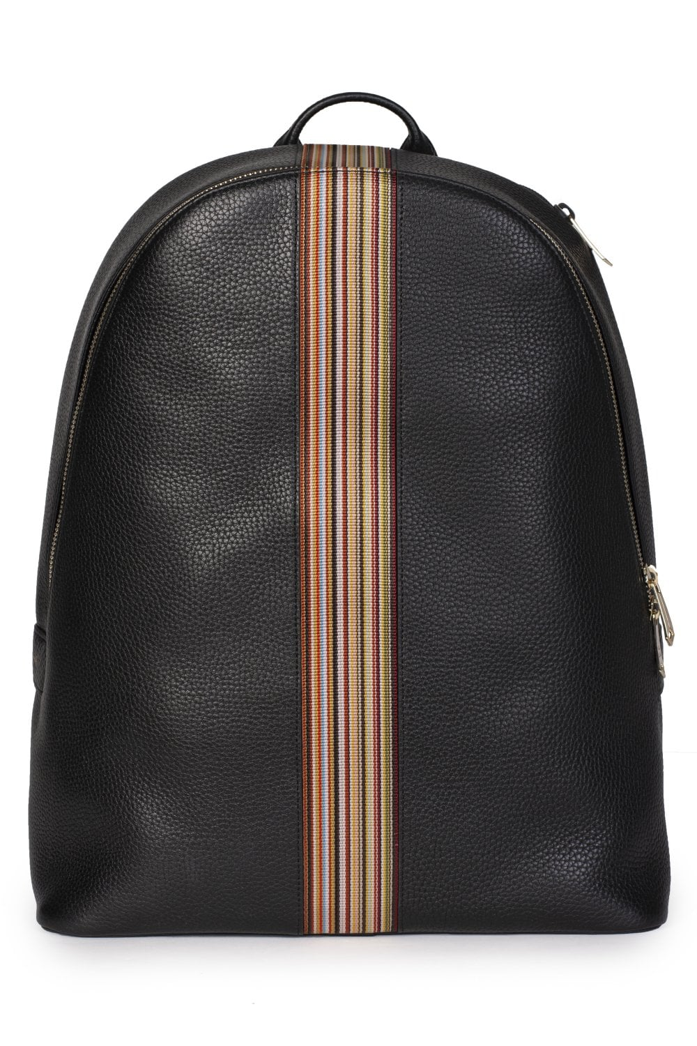 6d7cf20a7a PAUL SMITH Signature Multi-coloured Stripe Trim Leather Backpack ...
