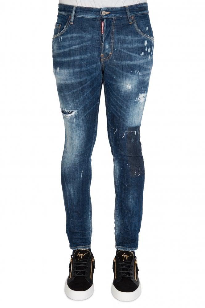 Skater Jeans Blue