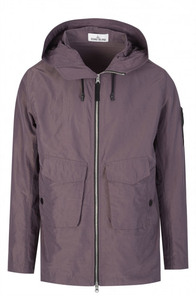 Slant-Pocket-Hooded-Jacket