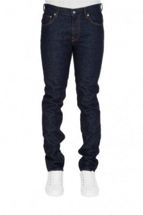 Stone Island 5 Pocket Skinny Fit Mid Rinse Denim Jeans Blue