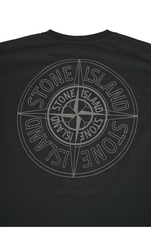 52313735f8358 Stone Island Back Compass Logo T-Shirt Khaki