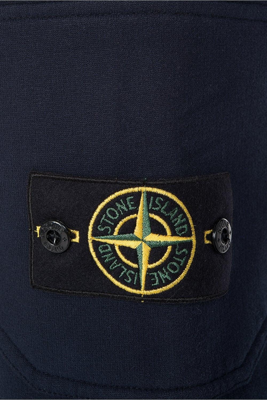 stone island badge logo joggers navy. Black Bedroom Furniture Sets. Home Design Ideas