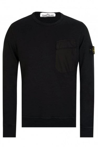 Stone Island Chest Pocket Sweatshirt