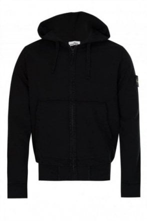 Stone Island Classic Hooded Sweatshirt Black