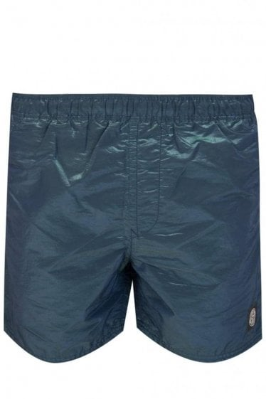 Stone Island Colour Watro Swim Shorts Blue