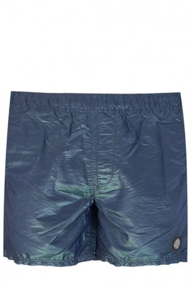 Stone Island Colour Watro Swim Shorts Navy