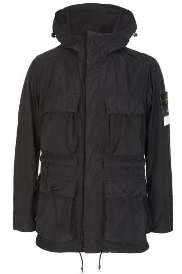 Stone Island David Tela Light-TC Jacket Black