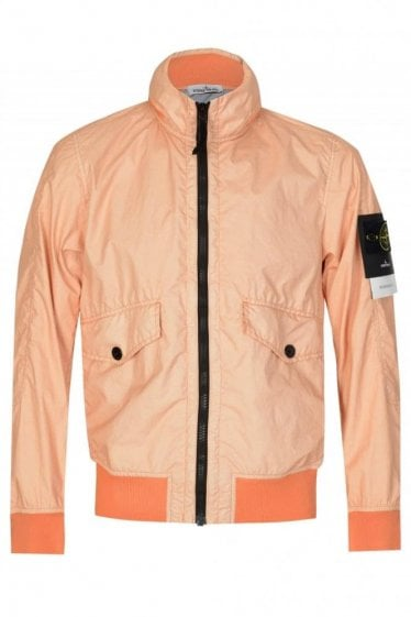 Stone Island Down Jacket Salmon