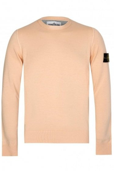 Stone Island Knitted Jumper Apricot