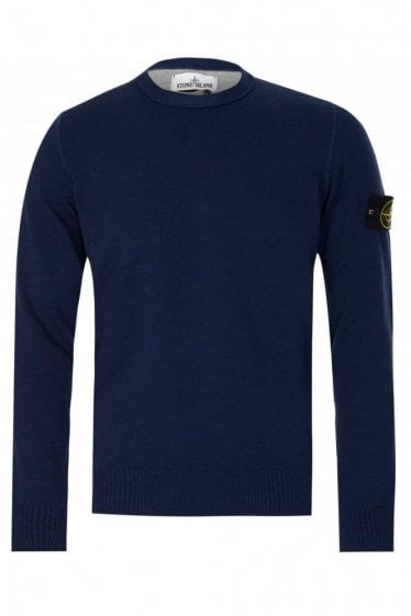 Stone Island Knitted Jumper Ink