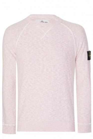 Stone Island Knitted Jumper Pink
