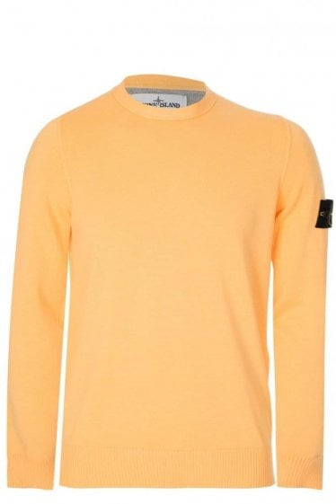 Stone Island Knitted Jumper Yellow