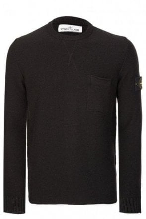 Stone Island Lambswool Knitted Jumper