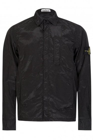 Stone Island Nylon Metal Badge Logo Jacket