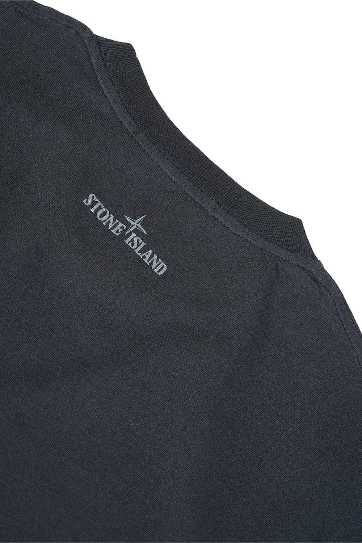 stone island oversize logo t shirt black. Black Bedroom Furniture Sets. Home Design Ideas