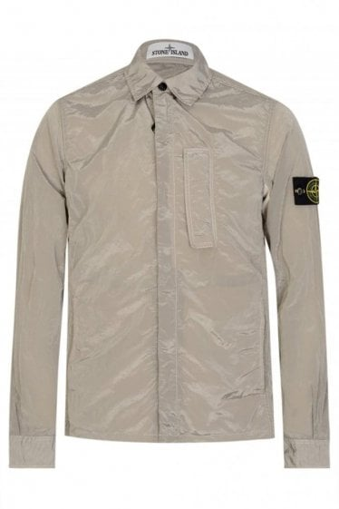 Stone Island Patch Pocket Overshirt Grey