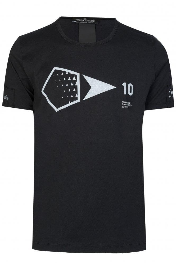 Stone-Island-Printed-Tshirt