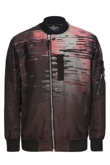 Stone Island Shadow Project Big Loom Jacquard Bomber Jacket