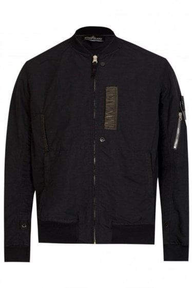 Stone Island Shadow Project Bomber Black
