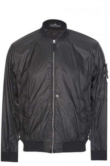 Stone Island Shadow Project Bomber Jacket Black