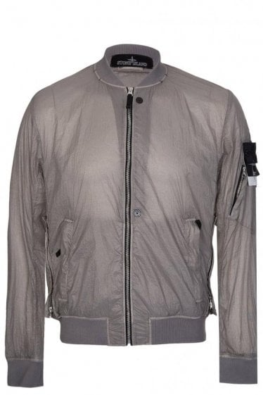 Stone Island Shadow Project Bomber Jacket Grey