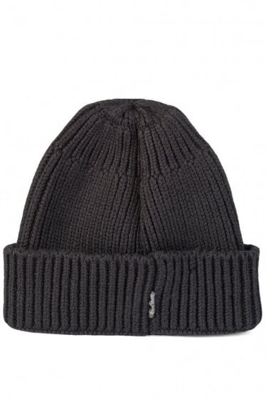 Stone Island Shadow Project Knitted Hat Black