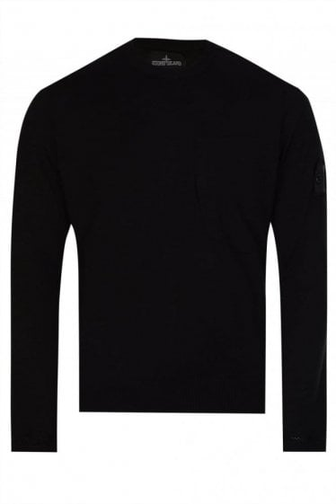 Stone Island Shadow Project  Knitted Jumper Black
