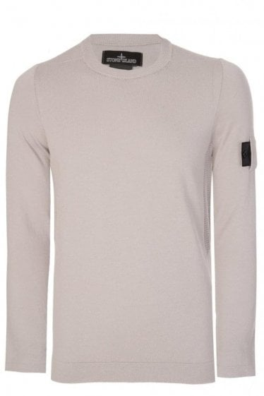 Stone Island Shadow Project Knitted Jumper Grey