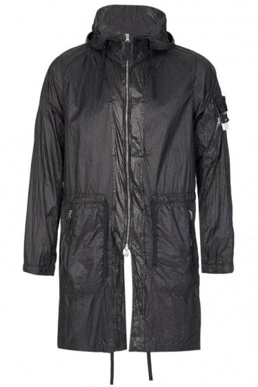 Stone Island Shadow Project Lucid Ultralight Nylon Parka Black