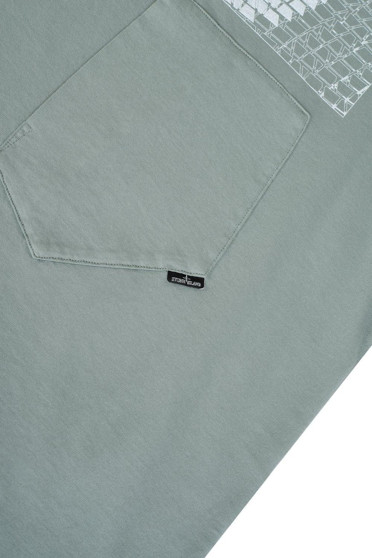 1b60f978 STONE ISLAND SHADOW PROJECT Stone Island Patch Pocket T-shirt ...