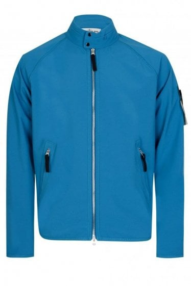 Stone Island Soft Shell Jacket Blue