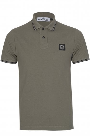 Stone Island Trim Polo Shirt
