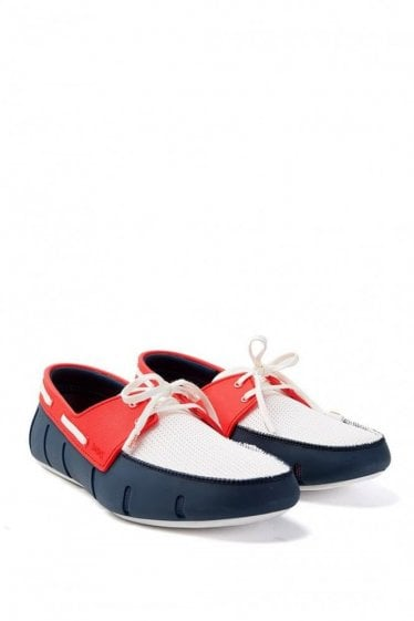 Swims Sport Loafer Red & Navy