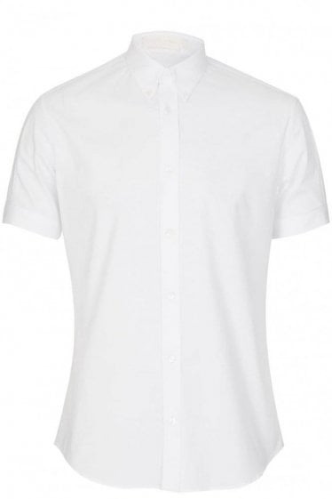 Alexander McQueen Short Sleeve Shirt White