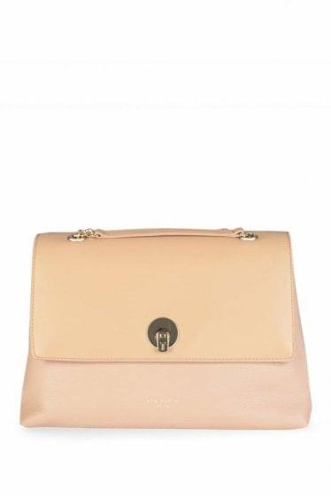 Ted Baker Chain Satchel Tan