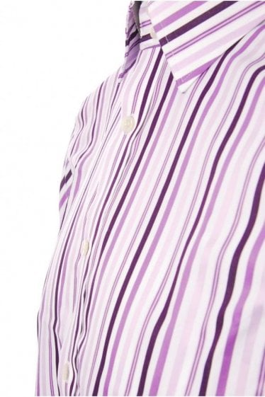 Ted Baker Formal Stripe Shirt : Medium