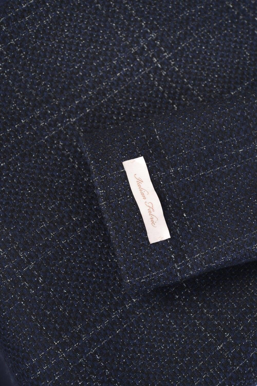 Herpen Long Check Wrap Coat