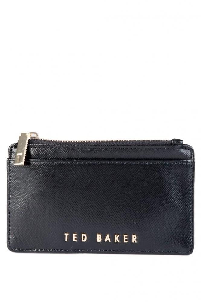 Ted Baker Textured Coin Purse Black