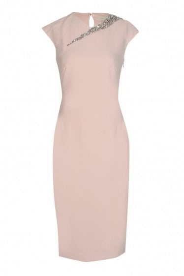 Ted Baker Womens Cut Out Back Detail Dress
