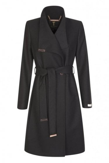 Ted Baker Women's Kikiie Long Wrap Coat
