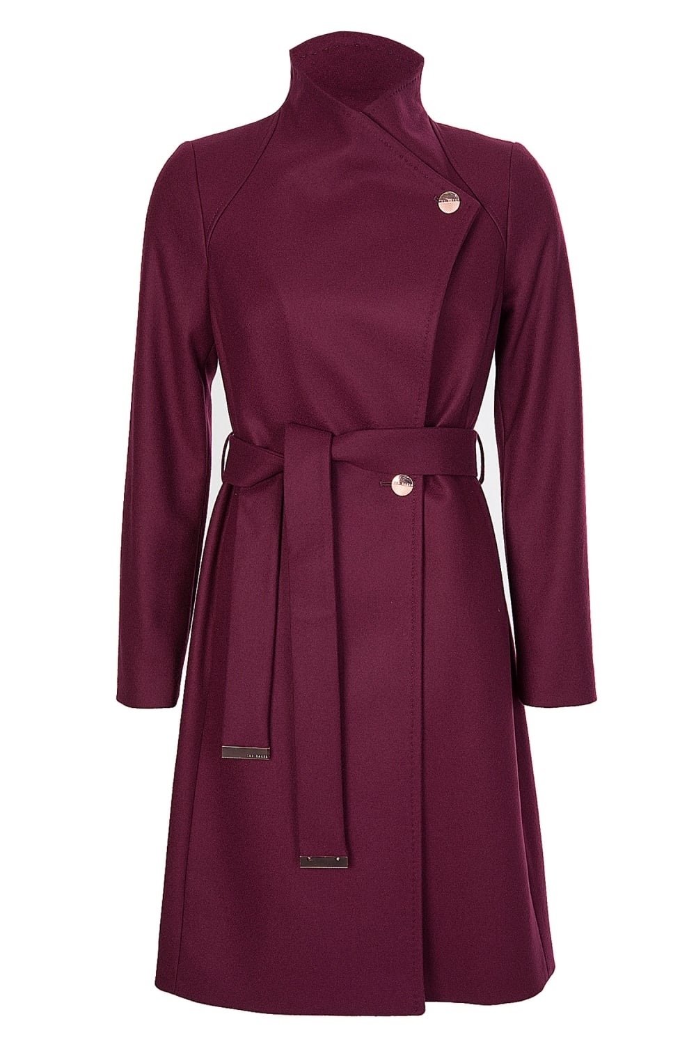 casual shoes uk cheap sale find lowest price Womens Long Trench Coat Oxblood