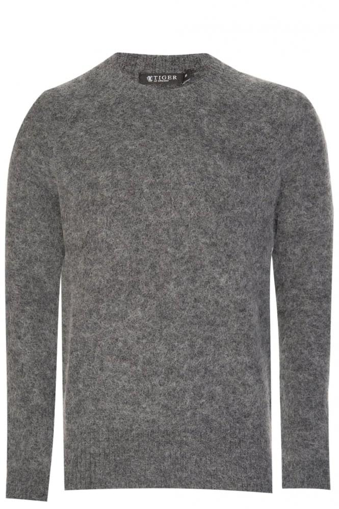TIGER OF SWEDEN Holken Pullover Grey