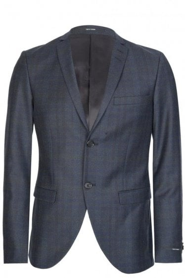 Tiger Of Sweden Woven Check Blazer