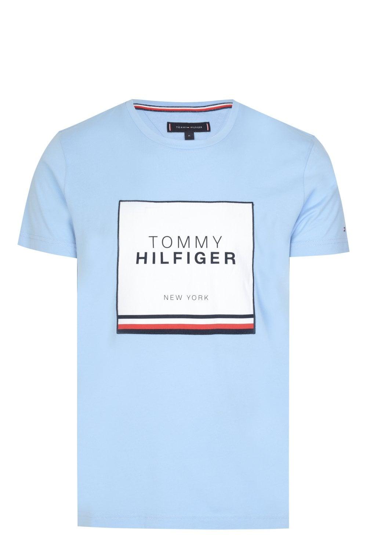9c8e7acf TOMMY HILFIGER Tommy Hilfiger Box Logo T-shirt - T-Shirts from ...