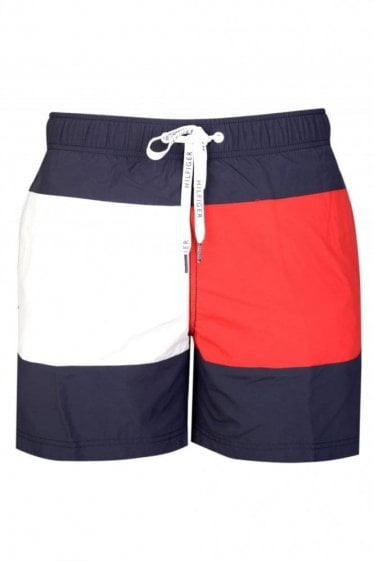Tommy Hilfiger Flag Panel Swim Shorts