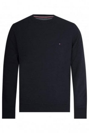 Tommy Hilfiger Flag Sweatshirt Navy