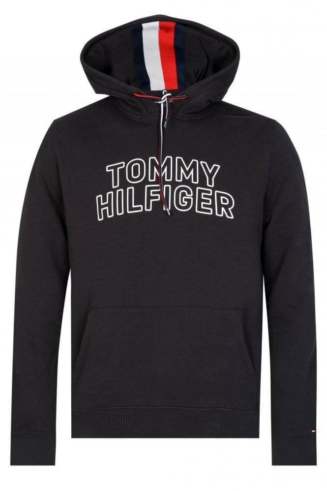 Tommy Hilfiger Hooded Sweatshirt Black thumbnail