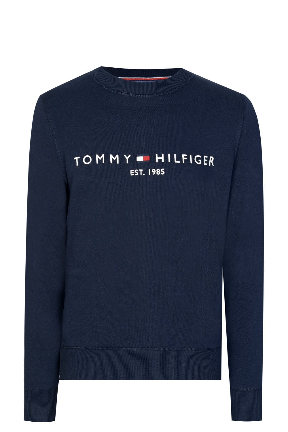 06d7e9a8 TOMMY HILFIGER Tommy Hilfiger Logo Sweatshirt - Clothing from Circle ...
