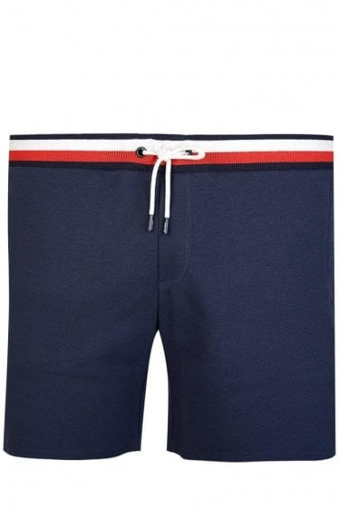 Tommy Hilfiger Stripe Combination Joggers Shorts Navy