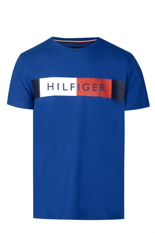 034876727 TOMMY HILFIGER Tommy Hilfiger Stripe Logo T-shirt - Clothing from ...